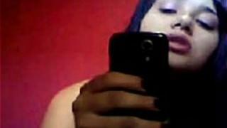 Novinha Brasileira Faz Video De Presente para Namorado